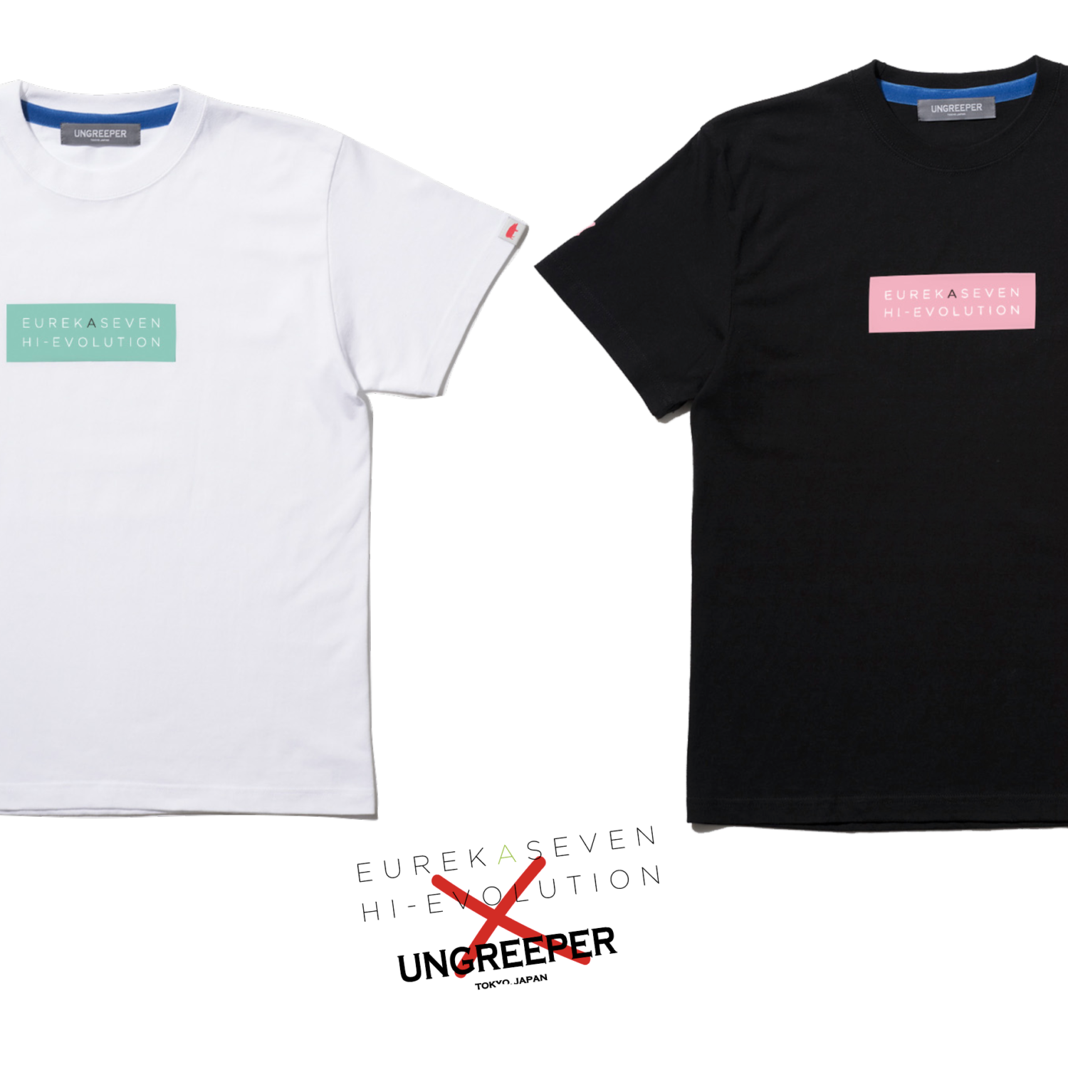 UNGREEPERコラボレーションTシャツ(エウレカ&アネモネ)