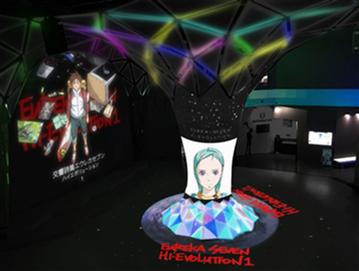9/13~ VR ZONE SHINJUKUとコラボレーション決定!9/8~レコード盤コースター付き「エウレカセブン 全ての始まりパフェ」先行販売開始!!