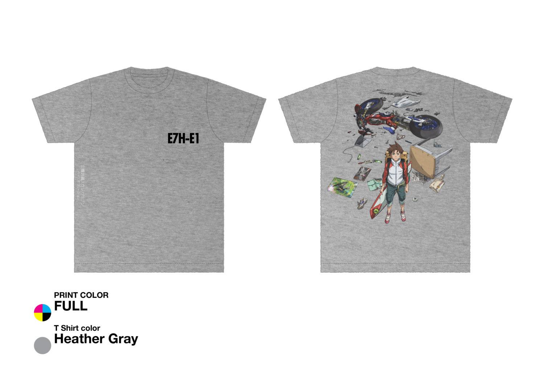 劇場物販:Tシャツ(2種レントン・エウレカ)