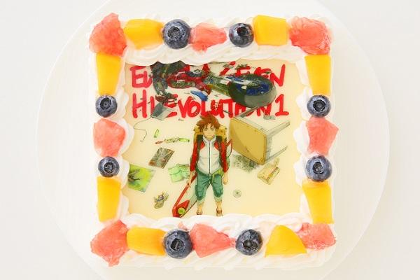 【期間限定】エウレカセブンスクエアフォトケーキは10/31まで!
