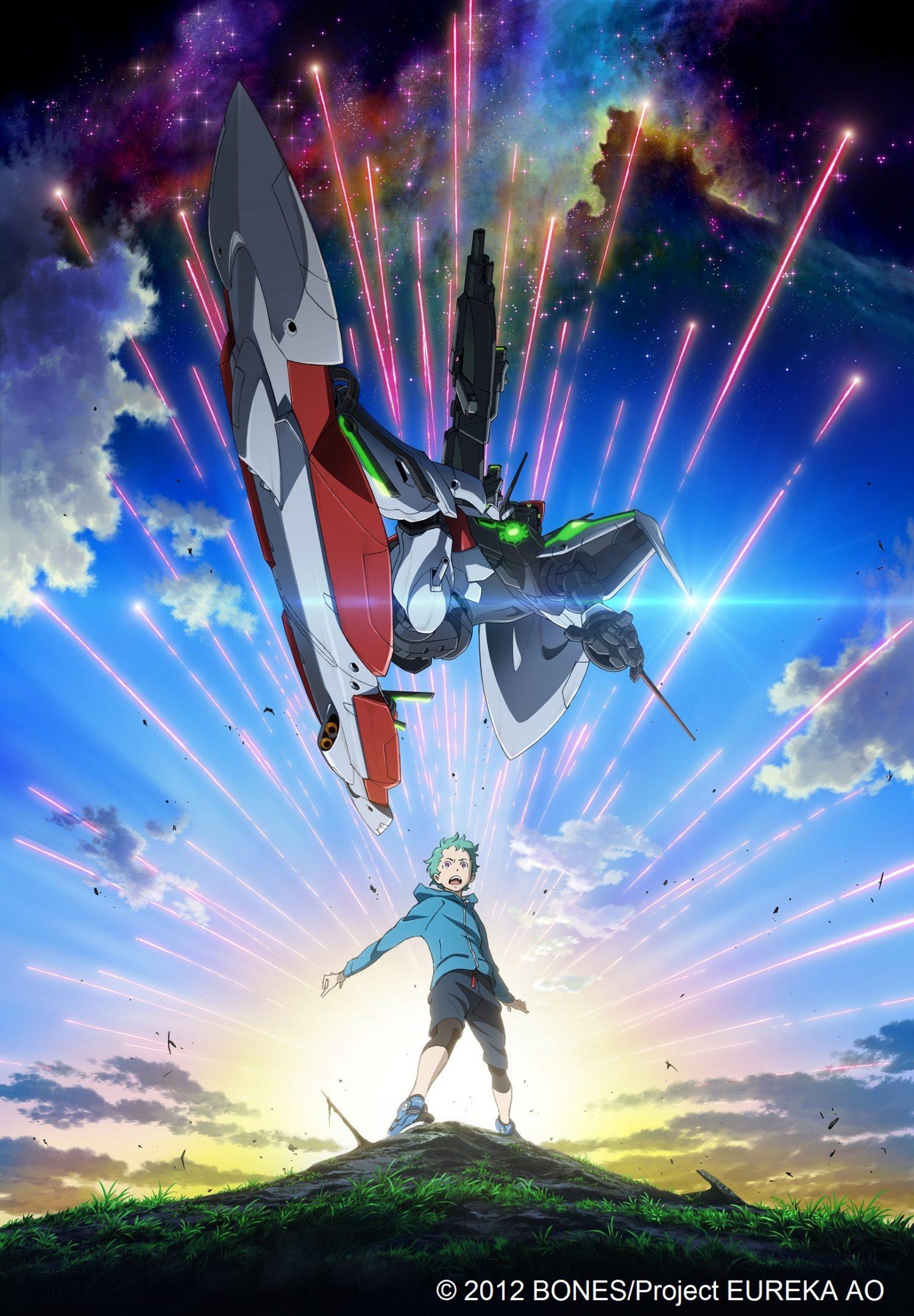 映画公開記念!TVシリーズ「エウレカセブンAO」Blu-ray BOX、発売決定!