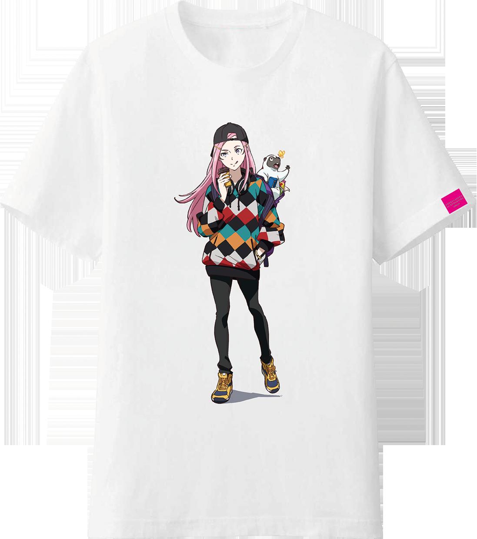 交響詩篇エウレカセブン ハイエボリューション×76Cafe  限定 アネモネ描きおろしTシャツ